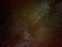 Milky Way. Partial view of our Galaxy, Milky Way stock image