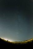 Milky Way. I look to the Milky Way Stock Photo