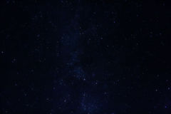 Milky way Royalty Free Stock Photography