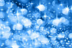 Milky Way. The Milky Way - Blue Christmas background with stars Royalty Free Stock Photos