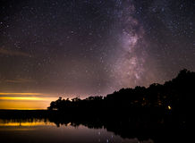 Free Milky Way Above Alaskan Lake Royalty Free Stock Images - 89081379