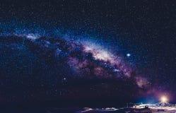 Milky Way in Antarctica Royalty Free Stock Photo