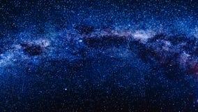 Milky Way in Antarctica stock footage