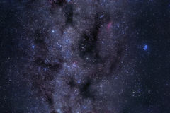 Milky Way astrophoto Royalty Free Stock Photography