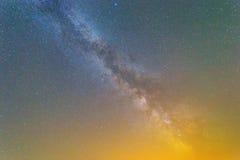Milky way background Stock Image