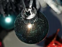 Milky way in a bauble Stock Photos