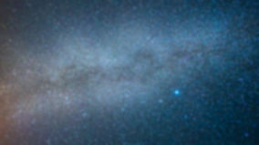 Milky Way blur background Stock Photo