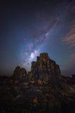 Milky Way at Bombo Headland, Bombo, NSW, Australia Stock Image