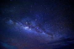 Milky Way. Clear Blue Starry Starry Night Stock Photos