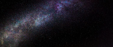 Milky Way Detail. Detail shot of part of the Milky Way stock photography