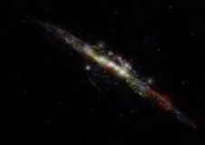 Milky Way Galaxy. Viewed from far Royalty Free Stock Photography