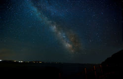 Milky Way Galaxy. Milky Way is the galaxy that contains our Solar System. The name `milky` is derived from the appearance from Earth of the galaxy like a band of Stock Photos