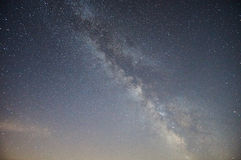 Milky way. Royalty Free Stock Image