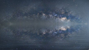 Milky way Galaxy Long exposure photograph. Milky way Galaxy Long exposure photograph with grain Royalty Free Stock Images