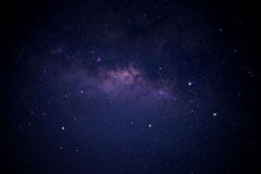 Milky Way Galaxy over phangnga province Royalty Free Stock Images