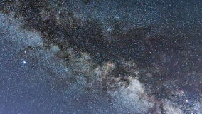 Milky Way Galaxy. Starry night stock video footage