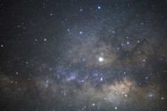 Milky way galaxy with stars and space dust in the universe.  royalty free stock photo