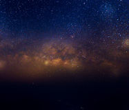 Milky way galaxy royalty free stock photos