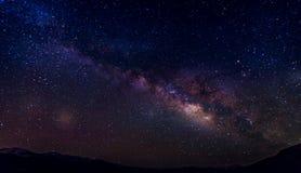 Milky way galaxy stock photos