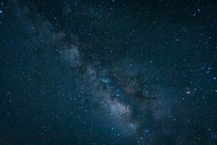 Milky way galaxy with stars and space dust in the universe Stock Photo