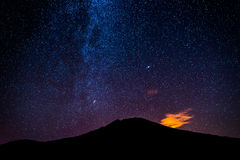 Milky Way galaxy Stock Photography