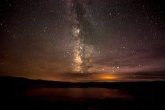 Milky Way  Lake Powell Utah Royalty Free Stock Image