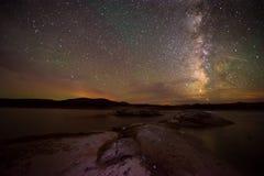 Milky Way  Lake Powell Utah Stock Photos