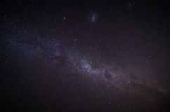 The Milky Way in the night sky. Astrophotography photo Royalty Free Stock Photography