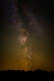 Milky way. The milky way in the night sky Stock Photos