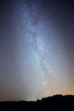 Milky way on night sky, abstract natural background Stock Image