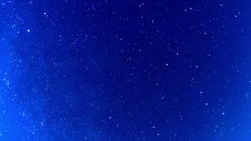 Milky Way in the night sky. Fisheye. Time Lapse stock footage
