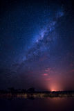 Milky Way - Night Sky Royalty Free Stock Photos