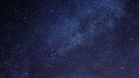 Milky way in night sky Royalty Free Stock Image