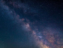 Milky Way in the Northern hemisphere Stock Photo