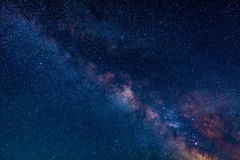 Milky Way in the Northern hemisphere Stock Photography