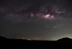 The Milky Way. Our galaxy. Long exposure photograph Stock Image