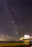Milky way panoramic Royalty Free Stock Photos