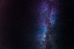 Milky Way. Panoramic view of the Milky Way stitched from 8 individual photos royalty free stock image