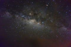 Milky Way. Photo taken at Lasau Podi, Sabah Royalty Free Stock Images