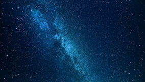 Milky way stock video footage