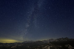 Milky Way, Ritter Range Royalty Free Stock Photos