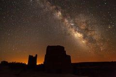 Milky Way, Rocks, Night, Landscape Royalty Free Stock Image