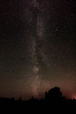 Milky Way with rose glow Royalty Free Stock Photos