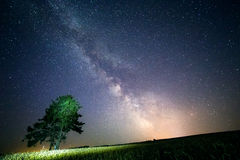 Milky Way. It's always look fantastic Stock Photography