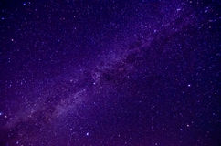 Milky Way. And Sars night sky background Stock Photography