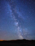 Milky Way. Seen from Dingle at the West coast of Ireland Stock Images