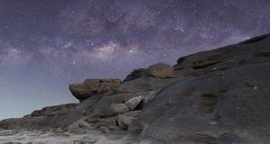 Milky Way on the sky royalty free stock photography