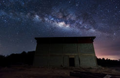 Milky way on the sky Stock Photo