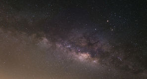Milky way. In the sky at night Stock Image