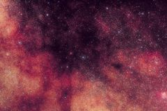 Milky Way Space Stars stock image